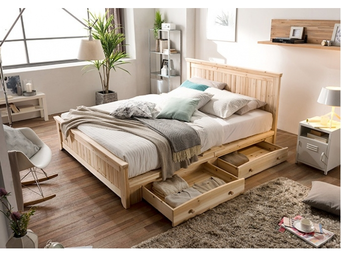 korea furniture rental Bed